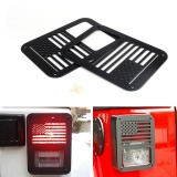 Harga Areyourshop Tail Light Cover Trim Guard Protector Untuk Jeep Wrangler Sahara Rubicon 2007 2016 Intl Areyourshop Original