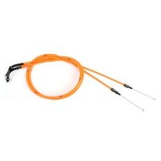 Areyourshop Throttle Cable Wire Line Gas untuk Honda VTEC CB400 1999-2012 2011 Orange-Intl