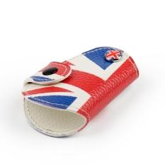 Areyourshop UK Flag Kunci Kulit Fob Pemegang Penutup Rantai untuk 2014-2018 MINI COOPER JCW