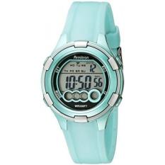 Armitron Olahraga Wanita 45/7053LTG Digital Ringan Hijau Resin Tali Jam Tangan-Internasional