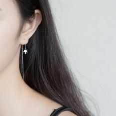 Jual Beli Aa€™Roch Korea Fashion Style Perak Kawat Telinga Perempuan Anting Anting Daun Tiongkok