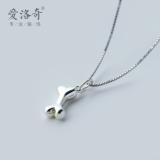 Perbandingan Harga Aa€™Roch Lucu Wanita Kecil Halus Kalung Perak Kalung Oem Di Tiongkok