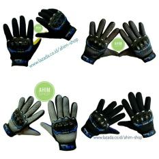 ARS Protect Extreme Sarung Tangan FULL Gloves Elastis + Batok Fiber Keras (1 Pasang–Random)