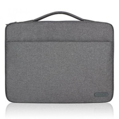 Arvok 13 13.3 14 Inch Water-resistant Canvas Fabric Laptop Sleeve With Handle & Zipper Pocket/Notebook Computer Case/Ultrabook Tablet Briefcase Carrying Bag For Acer/Asus/Dell/Lenovo/HP/Samsung