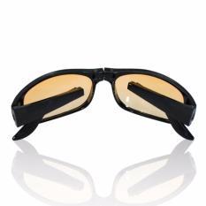 As Seen On TV HD Vision Fold Aways Outdoor Sport Sunglasses Deluxe - Kacamata Lipat - Hitam