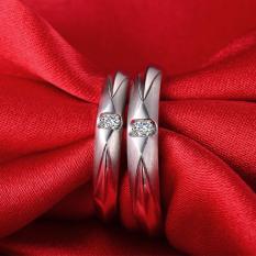 ASA Jewelry Cincin kawin Palladium ASA0007