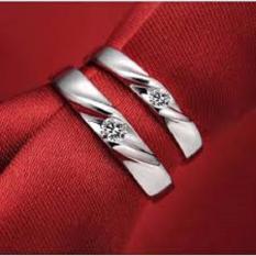ASA jewelry cincin kawin Palladium ASA0008