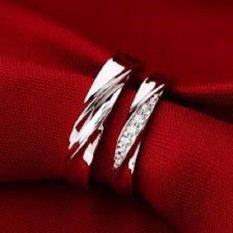 ASA Jewelry cincin kawin Palladium elegant ASA0001