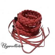 Asgarcollection- gelang kulit kerajinan garut 3 pcs.