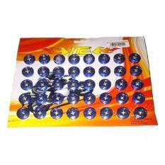 Harga Asian Baut Kembang Ring Sisik Blue Isi 40Pcs Branded
