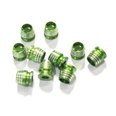 Spesifikasi Asian Monel Gelas Warna Green Isi 10Pcs Asian