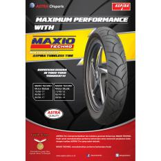 Harga Aspira Maxio Techno 70 90 17 Ban Tubeless Luar Sepeda Motor Mirip Fdr Facio Branded