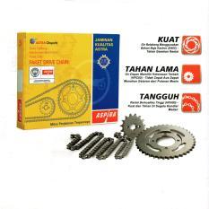 Harga Aspira Paket Gear Set Gir Set Dan Rantai Motor Yamaha Vixion Lama Aspira Original