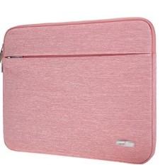 Atailorbird Laptop Buku Catatan Lengan Tas Sarung untuk 13/15. 6 ''MacBook Pro Dell Merah Muda 15 ~ 15.6 Inch-Internasional