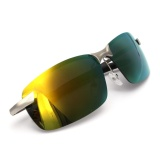 Beli Audew Fashion Pria Kacamata Terpolarisasi Mengemudi Anti Silau Olahraga Luar Ruangan Uv Kacamata Kuning Intl Online Terpercaya