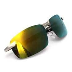 Toko Audew Fashion Pria Kacamata Terpolarisasi Mengemudi Anti Silau Olahraga Luar Ruangan Uv Kacamata Kuning Intl Murah Tiongkok
