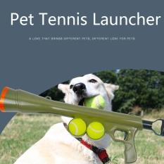 Aukey Toko Kualitas Tinggi Produk Anjing Bola Launcher Olahraga Permainan Menyenangkan Pelempar Perlengkapan Melempar W/2 Bola-Intl