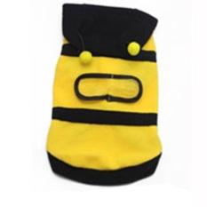 AUkEy Store Produk Berkualitas Tinggi Indah PUPPY Anjing Kucing PET Lembut Hangat Bee Pakaian Hoodie Baju Kostum Pakaian XL- INTL