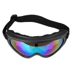 AUkEy Toko Motorcycle Bike Road ATV Bukti Angin Goggles Kacamata Eyewear Clear Sunglasses BARU-Internasional