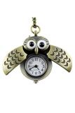 Spesifikasi Aukey Vintage Burung Hantu Perunggu Liontin Jam Saku Dengan Rantai Lengkap Dengan Harga