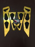 Jual Austin Racing Bordes Pijakan Kaki Yamaha Nmax Gold Austin Racing Branded