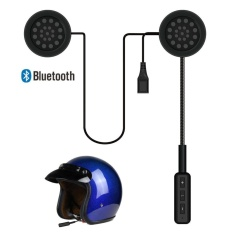 Kualitas Auto Motor Helmet Speakers Wireless Bluetooth Headset Motorcycle Earphone Headphone Handsfree Music For Mp3 Mp4 Smartphone New Intl Feiku