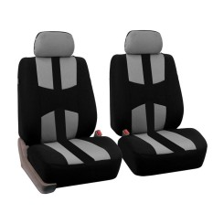 Auto Seat Covers Kain Rajutan Bahan + 2mm Spons-Internasional