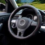 Spesifikasi Auto Steering Wheel Covers Diameter 15 Inch Kulit Pu Untuk Musim Penuh Hitam Intl Yingjie Terbaru