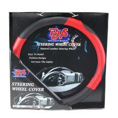 Autofriend Aksesoris Mobil AI SARUNG STIR PHS PREMIUM SYNTETIC M Steering Wheel Cover 37 CM - Merah