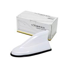 AUTOFRIEND Antena AI HYBRID Sirip Hiu Aksesoris Mobil Modifikasi Putih