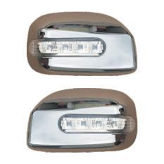 Autofriend Garnish Pelindung AI-3042 Toyota Avanza/Daihatsu Xenia 2012 2013 2014 2015 Mirror + LED