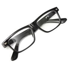 Autoleader Pria Wanita Cahaya Presbyopic Klasik Hitam Perbatasan Pembaca Kacamata + 3.5