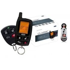 Mengotomatisasi 5305A 2 Cara LCD Vehicle Mobil Alarm Tanpa Kunci Masuk Jarak Jauh Mulai Sistem/Bebas Nutek Headphone-Internasional