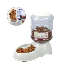 Harga Otomatis Pet Makanan Dispenser 3 5 L Air Makanan Pengumpan Untuk Kucing Anjing Feeding Original