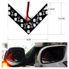 Autorace 2pcs Lampu Sein LED / Turn Signal DRL Spion / LED Kaca Spion LP-02 - White