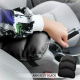 Review Autorace Bantal Bantalan Sandaran Tangan Mobil Aksesoris Variasi Arm Rest Cover Console Box Seat Box Konsol Universal Tt 01 Black Jawa Timur