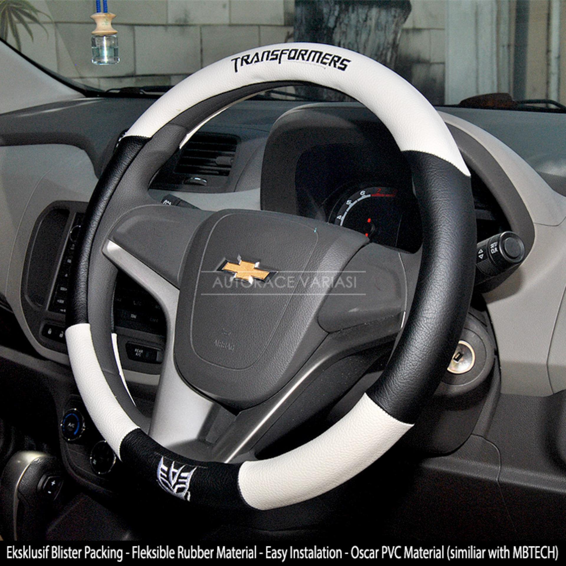 AUTORACE Cover Stir / Sarung / Aksesoris Pelindung Setir Mobil Universal Awet Kuat 104 Tranformrs -