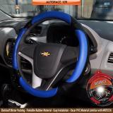 Miliki Segera Autorace Cover Stir Sarung Mobil Aksesoris Pelindung Setir Universal Awet Kuat 109 Biru