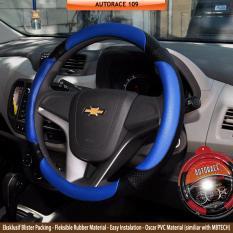 Jual Autorace Cover Stir Sarung Mobil Aksesoris Pelindung Setir Universal Awet Kuat 109 Biru Baru