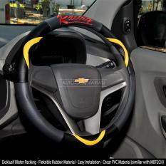 Harga Autorace Cover Stir Sarung Stir Mobil Autorace 200 Racing Kuning Autorace