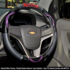 Jual Beli Online Autorace Cover Stir Sarung Stir Mobil Autorace 200 Racing Ungu