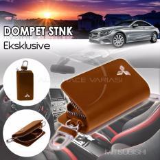 Toko Autorace Dompet Stnk Exclusive Dompet Kunci Mobil Dompet Kulit Mitsubishi Brown Online Di Indonesia