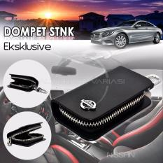 Autorace  Dompet STNK Exclusive /Dompet kunci mobil/Dompet kulit Nissan - Black