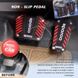 Beli Autorace Pedal Mobil Matic Non Slip Pedal Cover Kopling Rem Gas Mobil Vr Ps 03 Red Online Indonesia