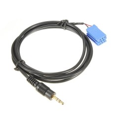 AUX Kabel Otomatis Audio Bagian untuk Radio Mobil Blaupunkt 00-10 BLA-3.5MM-Internasional