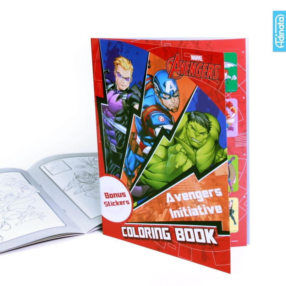 Avengers Coloring Book L Adinata / Buku Mewarnai