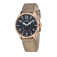 Jual Avi 8 Hawker Harrier Ii Pria Beige Genuine Leather Strap Watch Av 4031 06 Lengkap