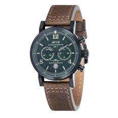 Jual Avi 8 Hawker Hurricane Av 4015 04 Pria Dark Green Genuine Leather Strap Watch Intl Online Indonesia