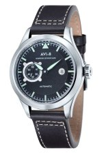 Toko Avi 8 Hawker Hurricane Av 4016 03 Pria Dark Brown Genuine Leather Strap Watch Online