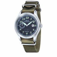Beli Avi 8 Hawker Hurricane Av 4017 04 Men S Army Green Nylon Nato Strap Watch Intl Avi 8 Online